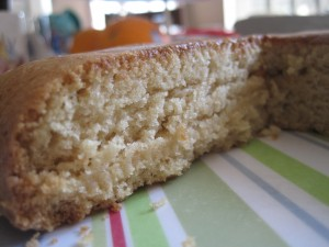 Classic Yellow Cake, The Allergen-Free Baker's Handbook