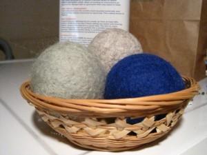 Wool Dryer Balls, Willow Store
