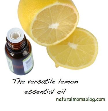 Uses of lemon essential oil