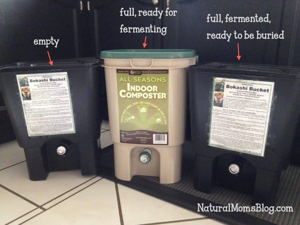 bokashi compost buckets