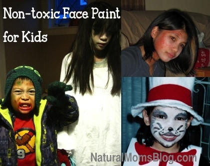 Non-toxic face painting for kids