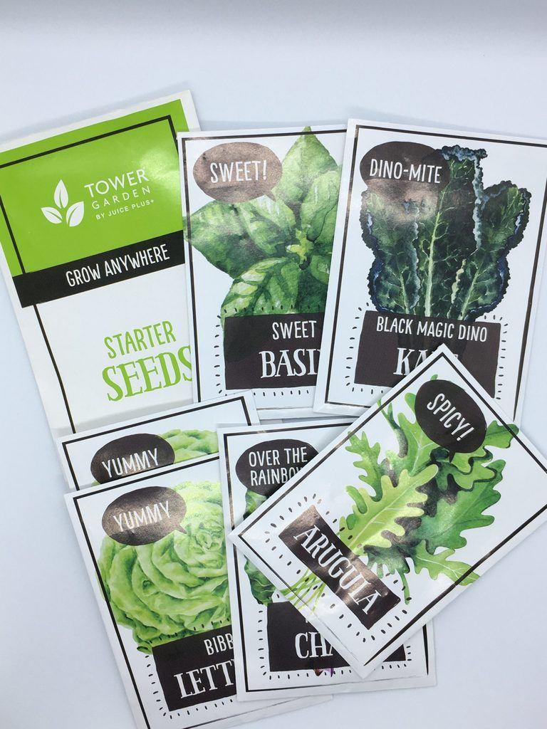 Tower Garden Starter Seeds