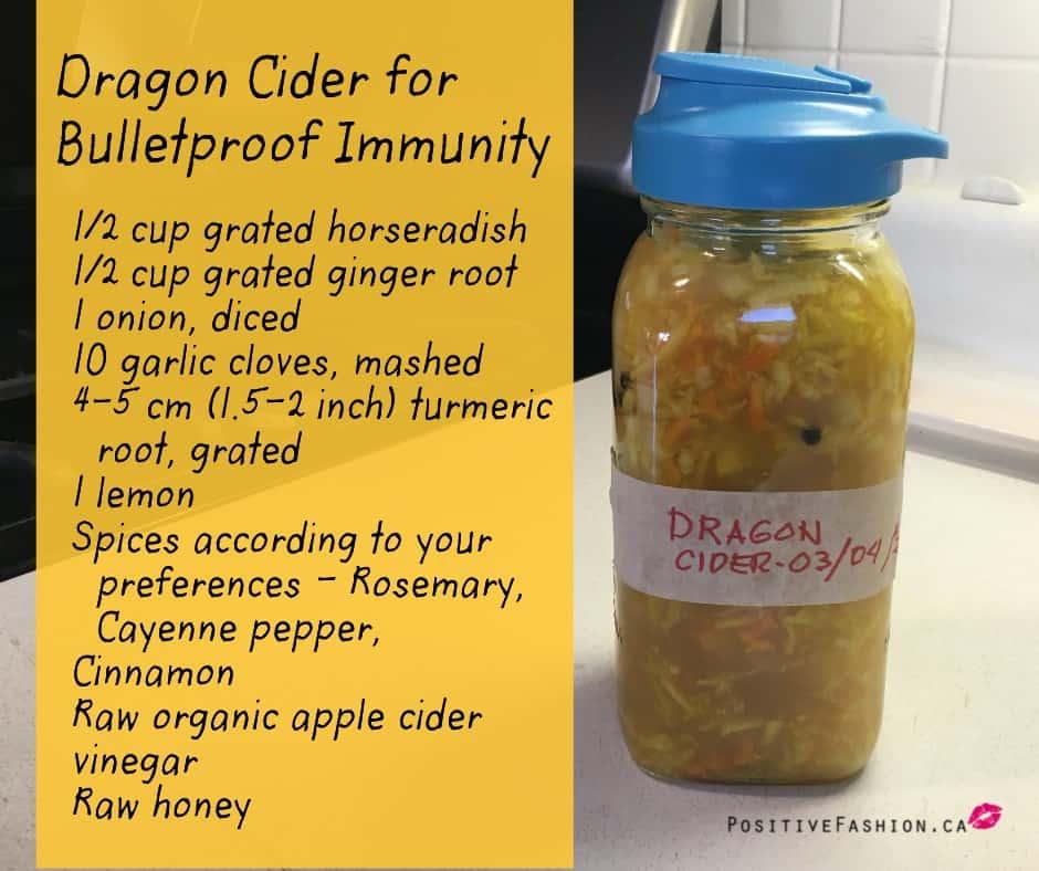 Dragon Fire Cider recipe