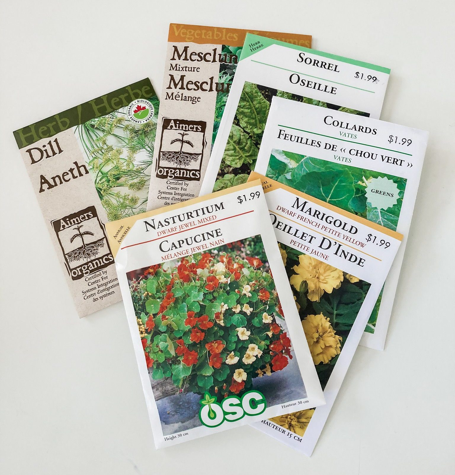 Tower Garden Seed Addiction - August seed haul