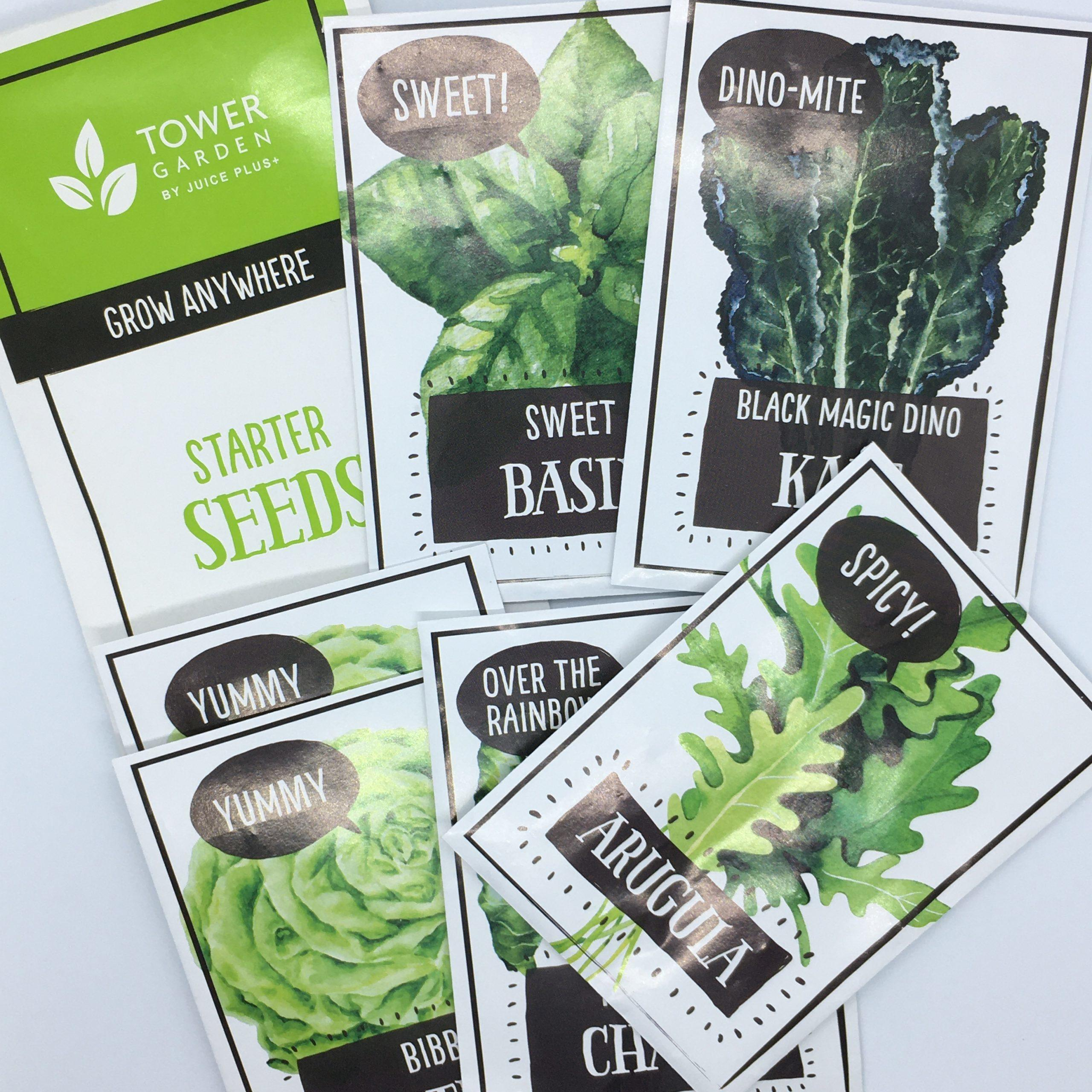 Tower Garden Starter Seeds